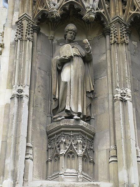 augustine statue